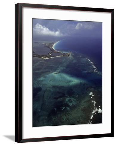 Cancun and the Caribbean Sea-Bruce Clarke-Framed Art Print
