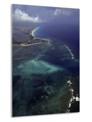 Cancun and the Caribbean Sea-Bruce Clarke-Metal Print