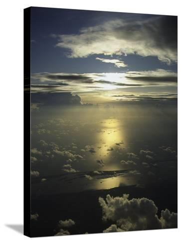 Mexico and the Sky-Bruce Clarke-Stretched Canvas Print