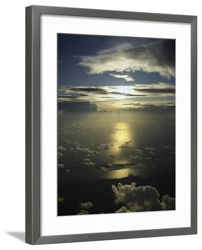 Mexico and the Sky-Bruce Clarke-Framed Art Print