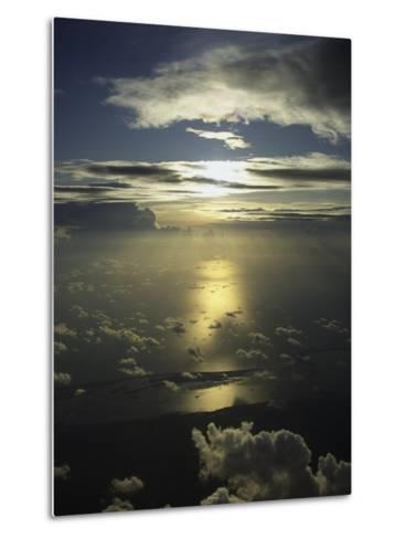 Mexico and the Sky-Bruce Clarke-Metal Print