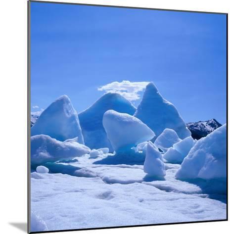 Icebergs in Alsek Lake, Glacier Bay National Park & Preserve, Alaska, USA-Wes Walker-Mounted Photographic Print