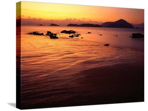 Sunrise Over Laem Son National Park, Ko Kam Yai, Ranong, Thailand-Rob Blakers-Stretched Canvas Print