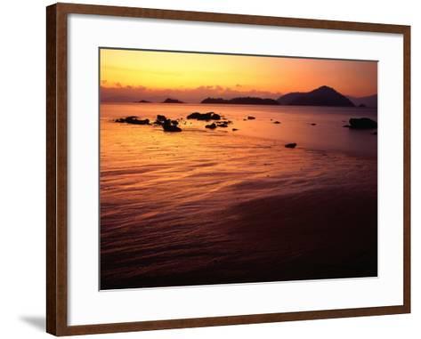 Sunrise Over Laem Son National Park, Ko Kam Yai, Ranong, Thailand-Rob Blakers-Framed Art Print