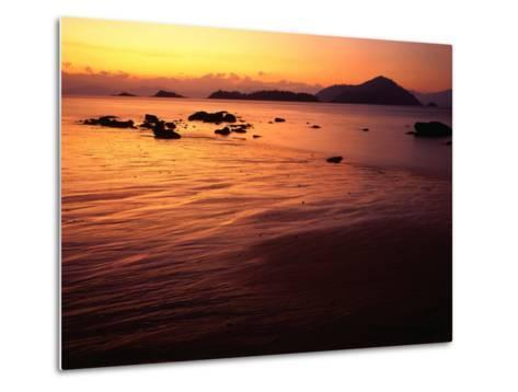 Sunrise Over Laem Son National Park, Ko Kam Yai, Ranong, Thailand-Rob Blakers-Metal Print