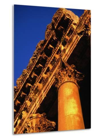 Detail of Columns and Entablature, Baalbek, Lebanon-Bethune Carmichael-Metal Print