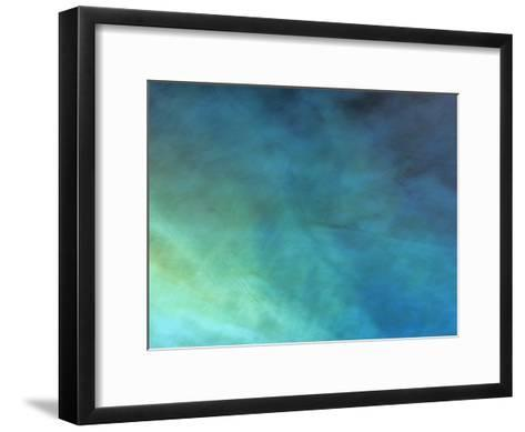 Colored Lights Illuminate a Lake, Reed Flute Cave, Guilin-Raymond Gehman-Framed Art Print