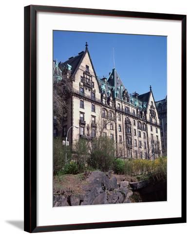 The Dakota, Central Park West, NYC-Barry Winiker-Framed Art Print