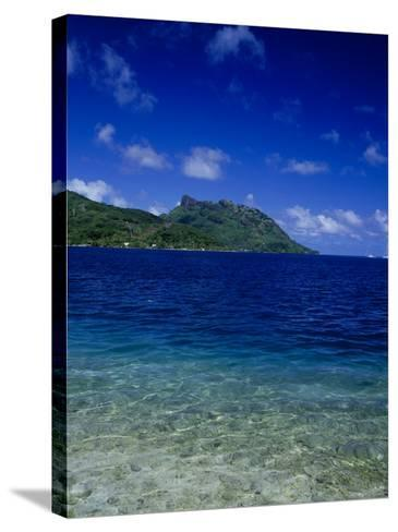 Green and Blue Waters, Verdant Hills-Barry Winiker-Stretched Canvas Print