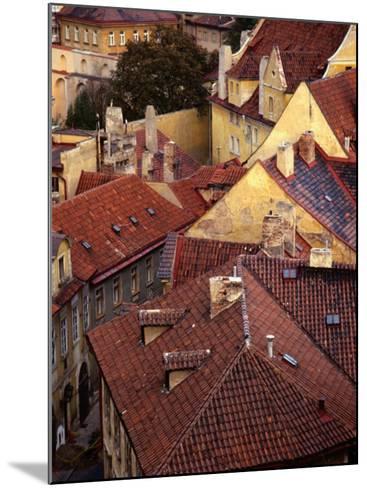 Rooftops of Houses, Prague, Czech Republic-Rick Gerharter-Mounted Photographic Print