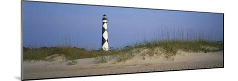 View of Cape Lookout Lighthouse-Stephen Alvarez-Mounted Photographic Print
