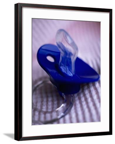 Baby Pacifier-Mitch Diamond-Framed Art Print