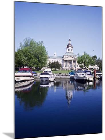 City Hall and Marina, Kingston Ontario, Canada-Mark Gibson-Mounted Photographic Print