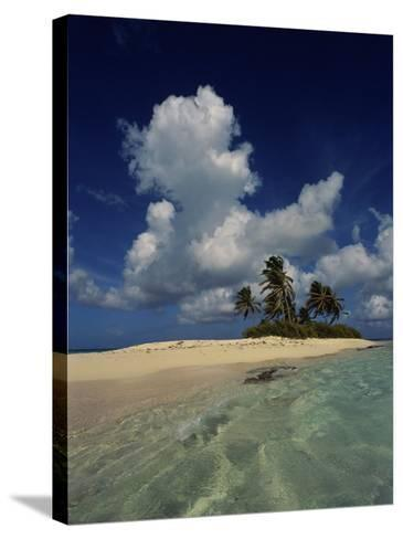 Sandy Island, Anguilla--Stretched Canvas Print