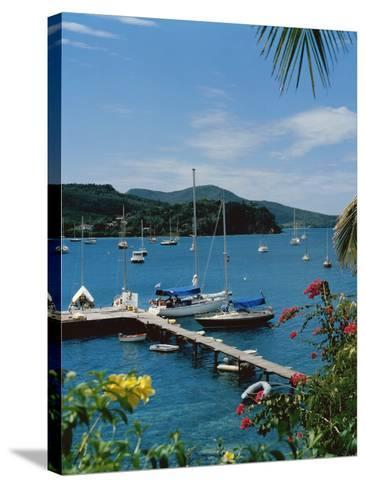 Trois Islets, Martinique--Stretched Canvas Print