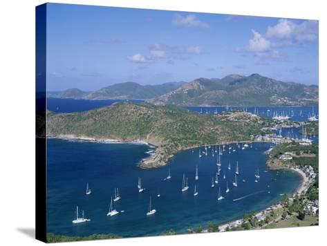 English Harbour, Antigua, Caribbean Islands--Stretched Canvas Print