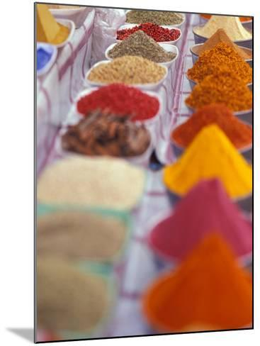 Colorful Spices in the Aswan Market, Egypt-Stuart Westmoreland-Mounted Photographic Print