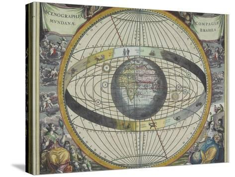 Ancient Astrological Map--Stretched Canvas Print