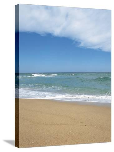 Sand on a Beach--Stretched Canvas Print