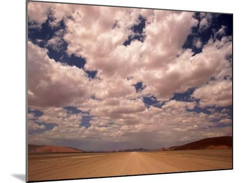 Clouds Over the Namib Desert, Namibia-Walter Bibikow-Mounted Photographic Print