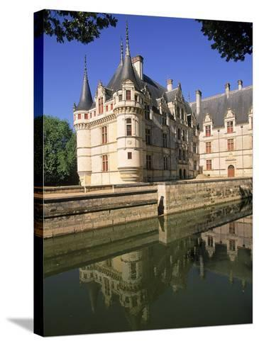 Chateau D'Azay-Le-Rideau, Loire Valley, France-Kindra Clineff-Stretched Canvas Print
