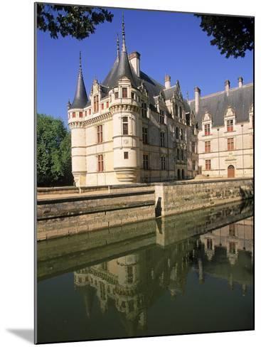 Chateau D'Azay-Le-Rideau, Loire Valley, France-Kindra Clineff-Mounted Photographic Print