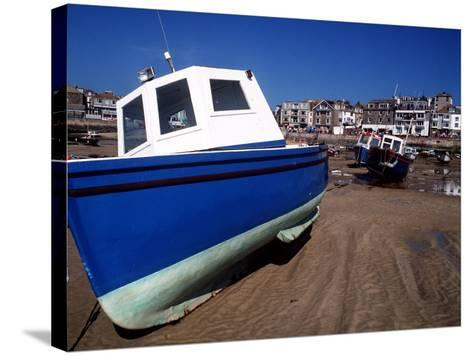 St. Ives in Cornwall--Stretched Canvas Print