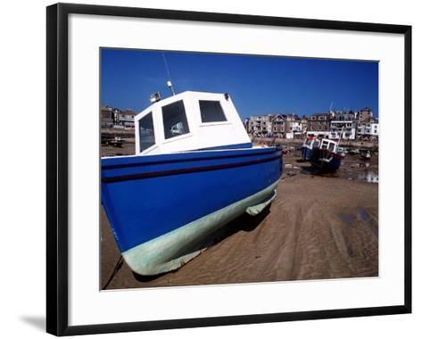 St. Ives in Cornwall--Framed Art Print