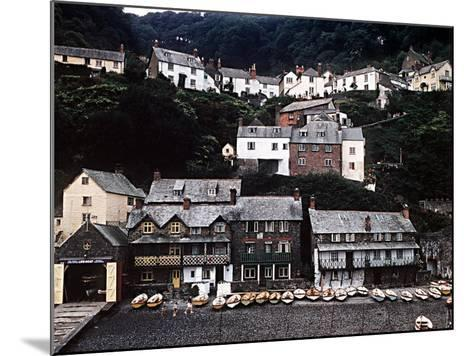 Coastal Town of Clovelly on Coast of North Devon West of Bideford--Mounted Photographic Print