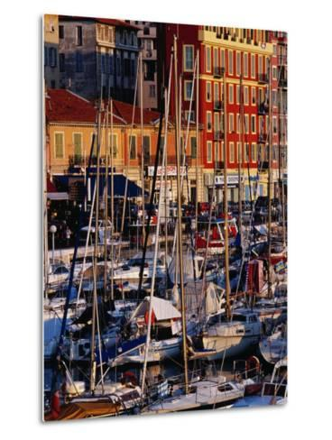 Boats in the Harbour at Bassin Lympia, Nice, France-Richard I'Anson-Metal Print