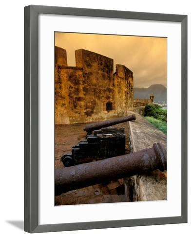 Fuerte de San Felipe, Puerto Plata, Dominican Republic-Nik Wheeler-Framed Art Print