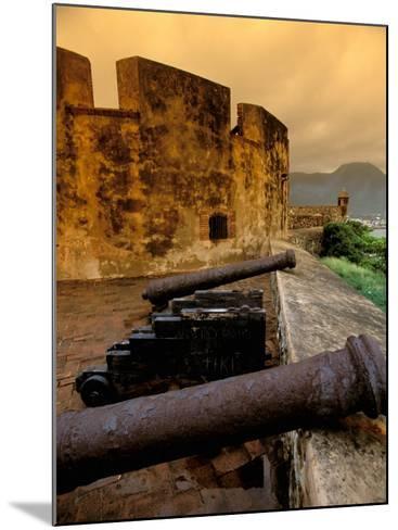 Fuerte de San Felipe, Puerto Plata, Dominican Republic-Nik Wheeler-Mounted Photographic Print