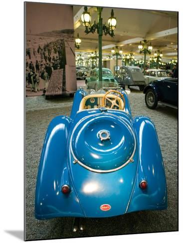 Musee National de l'Automobile, Bugatti Grille, Haut Rhin, France-Walter Bibikow-Mounted Photographic Print