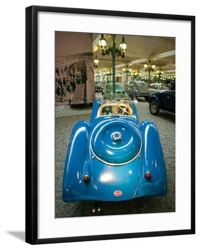Musee National de l'Automobile, Bugatti Grille, Haut Rhin, France-Walter Bibikow-Framed Art Print