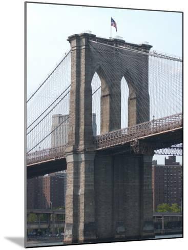 Bridge, New York City-Keith Levit-Mounted Photographic Print