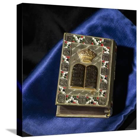Siddur, Jewish Prayerbook-Keith Levit-Stretched Canvas Print