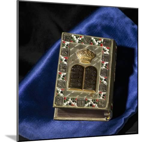 Siddur, Jewish Prayerbook-Keith Levit-Mounted Photographic Print