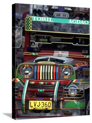 Jeepney, Philippines-William Gray-Stretched Canvas Print
