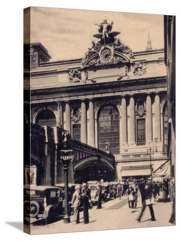 Grand Central Station, New York City--Stretched Canvas Print