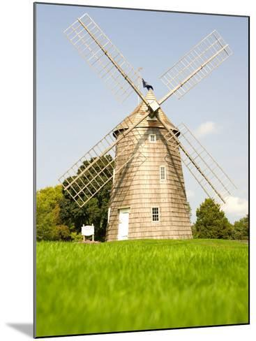 Veteran's Memorial and Wind Mill, East Hampton, New York, USA-Michele Westmorland-Mounted Photographic Print