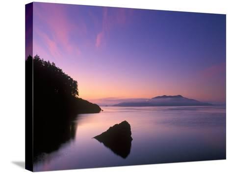 Doe Bay Dawn, Orcas Island, Washington, USA-Rob Tilley-Stretched Canvas Print