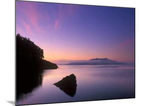 Doe Bay Dawn, Orcas Island, Washington, USA-Rob Tilley-Mounted Photographic Print