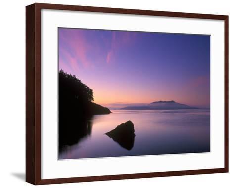 Doe Bay Dawn, Orcas Island, Washington, USA-Rob Tilley-Framed Art Print