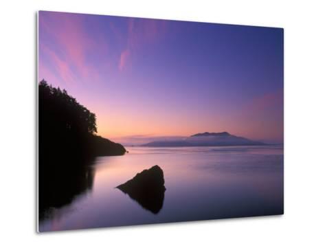 Doe Bay Dawn, Orcas Island, Washington, USA-Rob Tilley-Metal Print