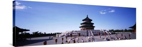 Temple of Heaven Beijing China--Stretched Canvas Print
