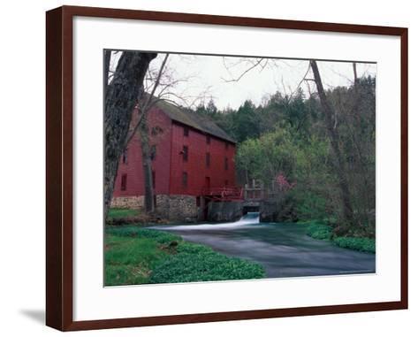Alley Spring Mill near Eminence, Missouri, USA-Gayle Harper-Framed Art Print