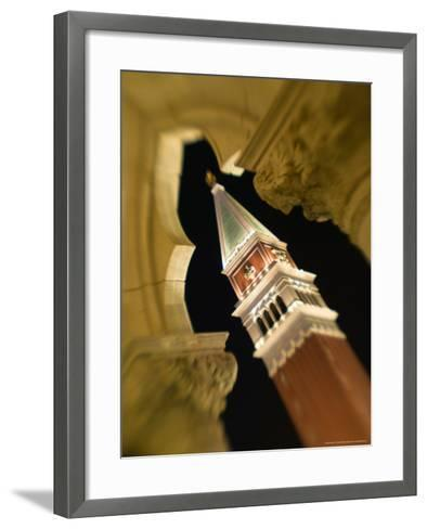 View of the Campanile, The Venetian Casino, Las Vegas, Nevada, USA-Walter Bibikow-Framed Art Print