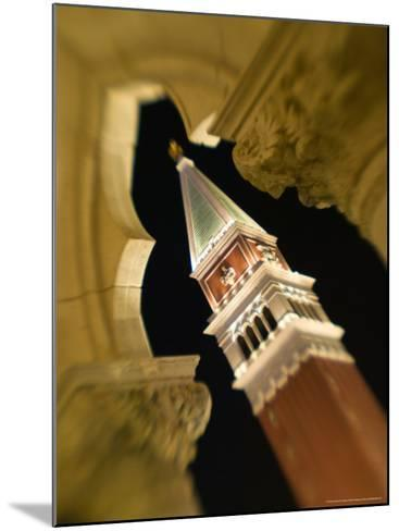 View of the Campanile, The Venetian Casino, Las Vegas, Nevada, USA-Walter Bibikow-Mounted Photographic Print