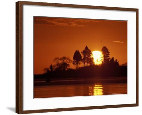 Sunrise over Odiorne Point, New Hampshire, USA-Jerry & Marcy Monkman-Framed Art Print