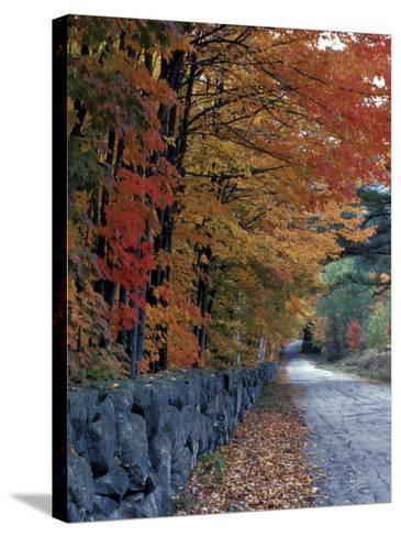 Fall Colors in the White Mountains, New Hampshire, USA-Jerry & Marcy Monkman-Stretched Canvas Print